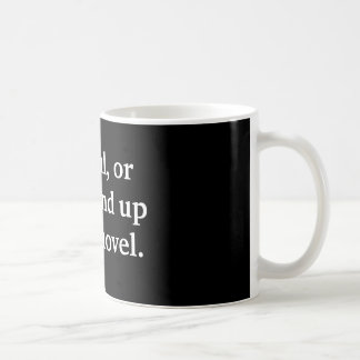 Sea autor del regalo cuidadoso, o usted terminará  taza de café