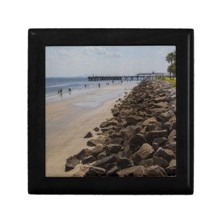 Sea Barrier Atlantic Ocean Georgia Beach Gift Box