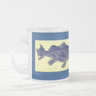 sea bass frosted mug