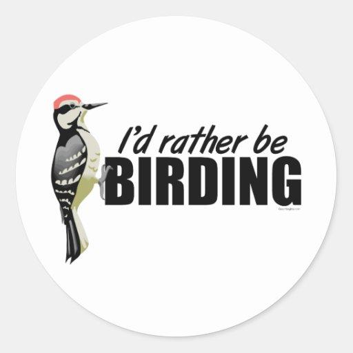 Sea bastante Birding Pegatinas