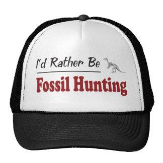 Sea bastante caza fósil gorros