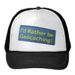 ¡Sea bastante Geocaching! Gorra
