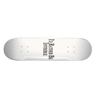 Sea bastante invisible patin personalizado