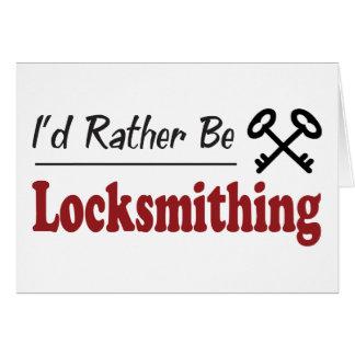 Sea bastante Locksmithing Tarjeta