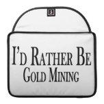 Sea bastante minería aurífera funda macbook pro