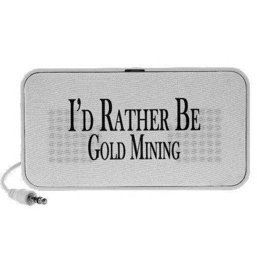 Sea bastante minería aurífera mini altavoz