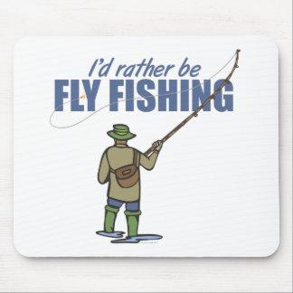 Sea bastante pesca con mosca alfombrillas de raton