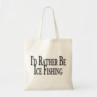 Sea bastante pesca del hielo bolsas de mano