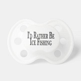 Sea bastante pesca del hielo chupetes para bebés