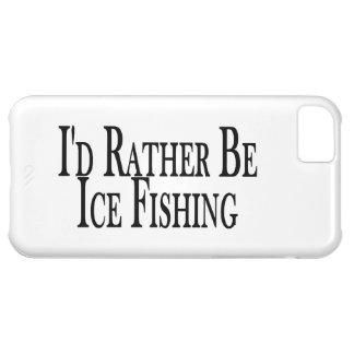 Sea bastante pesca del hielo funda para iPhone 5C