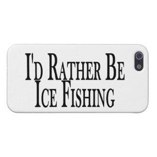 Sea bastante pesca del hielo iPhone 5 fundas
