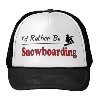 Sea bastante snowboard gorros bordados
