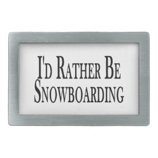 Sea bastante snowboard hebillas de cinturón rectangulares