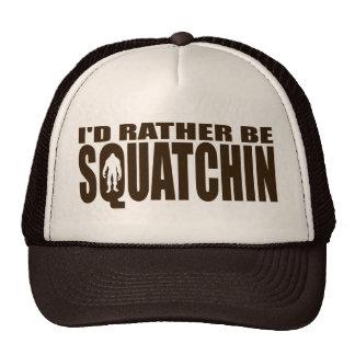 Sea bastante Squatchin - encontrar Bigfoot Gorro