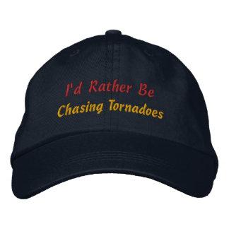 Sea bastante tormenta que persigue al observador d gorra de beisbol bordada