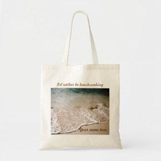 Sea bastante tote conocido de Beachcombing Bolsa Tela Barata