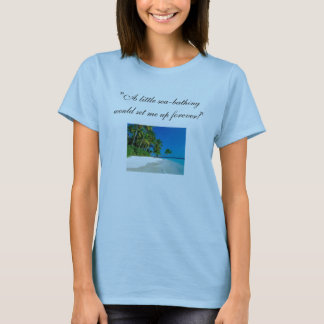 Sea-Bathing ~ Pride & Prejudice T-Shirt