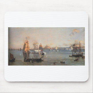 Sea Battle at the Bay of Patrae Ioannis Altamouras Mouse Pad