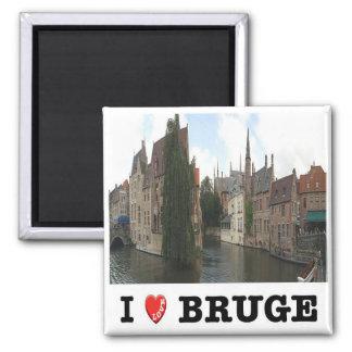 SEA - Bélgica - Brujas - amor de I Imán Cuadrado