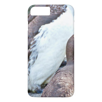 Sea Bird On Rock Stone iPhone 7 Plus Case