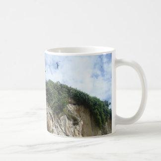 Sea Birds and Cliffs Coffee Mug