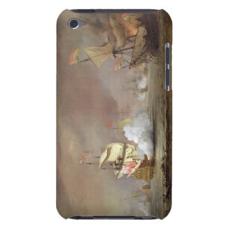 Sea Ble of the Anglo-Dutch Wars, c.1700 (oil on iPod Case-Mate Case