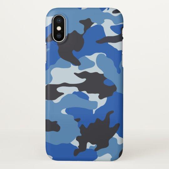 sale retailer 694c0 25459 Sea Blue Camo Cool Camouflage Pattern Zazzle iPhone Case