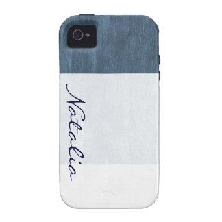 Sea Blue Vibe iPhone 4 Cover