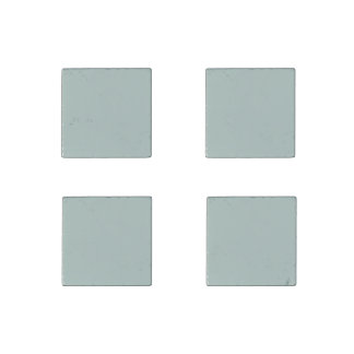 Sea Blue Solid Color Stone Magnet