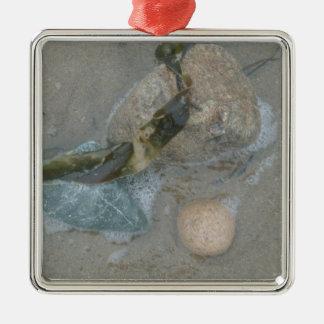 Sea Bounty 3 Metal Ornament