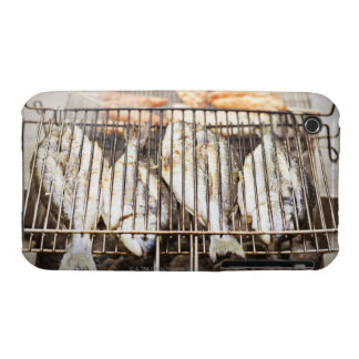 Sea breams on barbecue grill. Case-Mate iPhone 3 cases