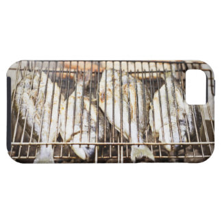 Sea breams on barbecue grill. iPhone SE/5/5s case