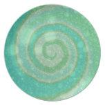 Sea Breeze Minty Green Plate