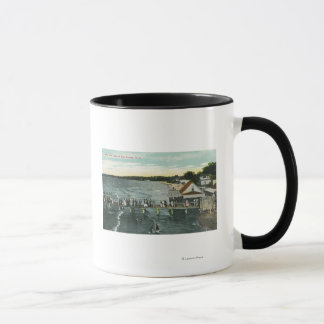 Sea Breeze Pier and Lake Scene Mug