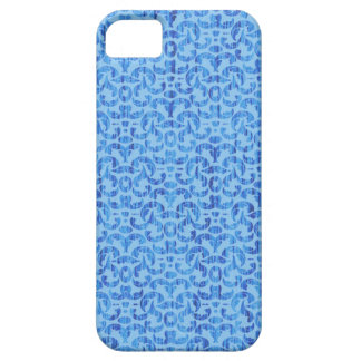 Sea Breezes Elegant Blue and Aqua Beach Damask iPhone SE/5/5s Case