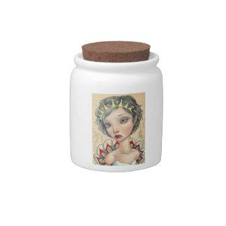 Sea Bride Candy Jar
