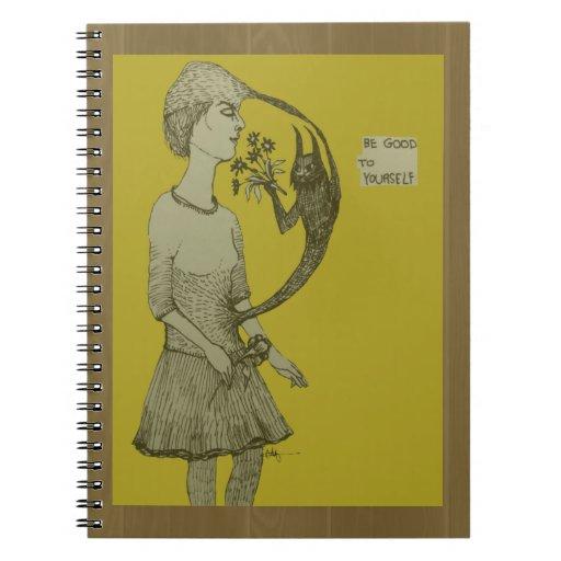 Sea bueno a sí mismo cuaderno
