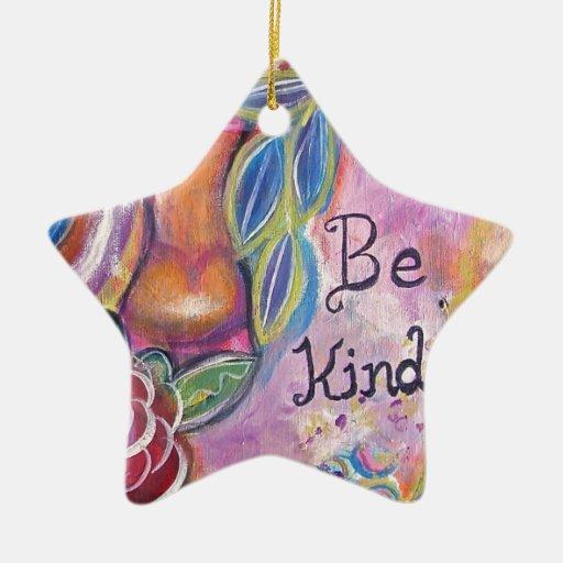 Sea bueno adorno de cerámica en forma de estrella