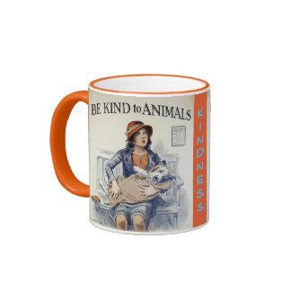 Sea bueno con la taza de los animales