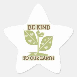 Sea bueno con nuestras camisetas y regalos de la pegatina en forma de estrella