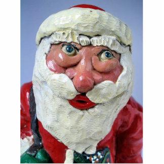 ¡Sea bueno ¡Santa está mirando en usted Esculturas Fotográficas