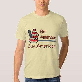 Sea camisa americana del americano de la compra