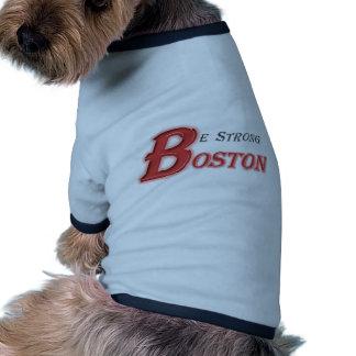 Sea camisa fuerte del perro de Boston Camisetas Mascota