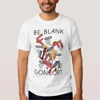 Sea camiseta en blanco del consorte playeras