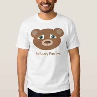 sea camiseta positiva beary playera