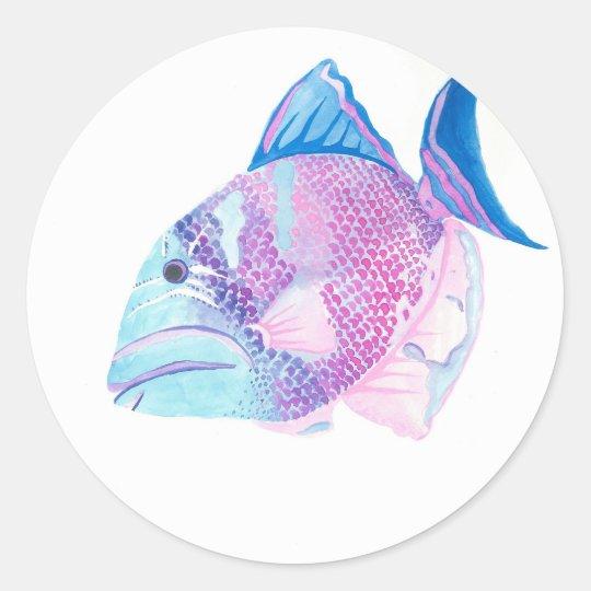 Sea Candy Classic Round Sticker