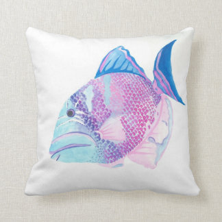 Sea Candy Throw Pillow