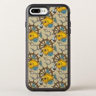 Sea Captain Fish Pattern OtterBox Symmetry iPhone 7 Plus Case