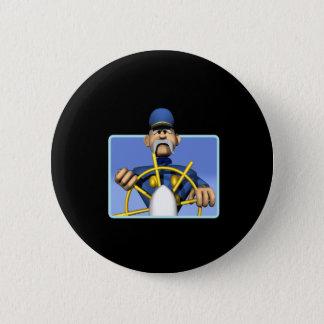 Sea Captain Pinback Button