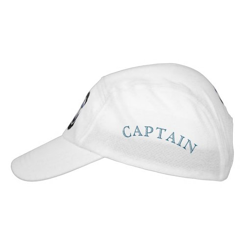 Sea captain sailor personalized headsweats hat
